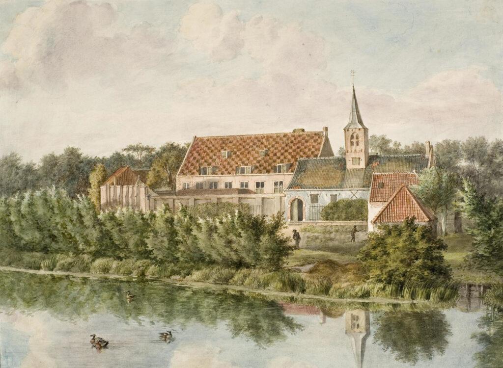 Leprozen-, Pest-, en Dolhuis in Haarlem